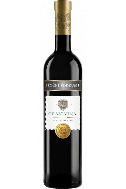 Wino Graševina Premium 0,75l  Wino Graševina