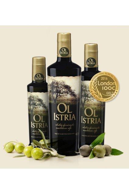Oliwa z oliwek z pierwszego tłoczenia 0,75l  Oliwa Ol Istra (rok prod. 2020)