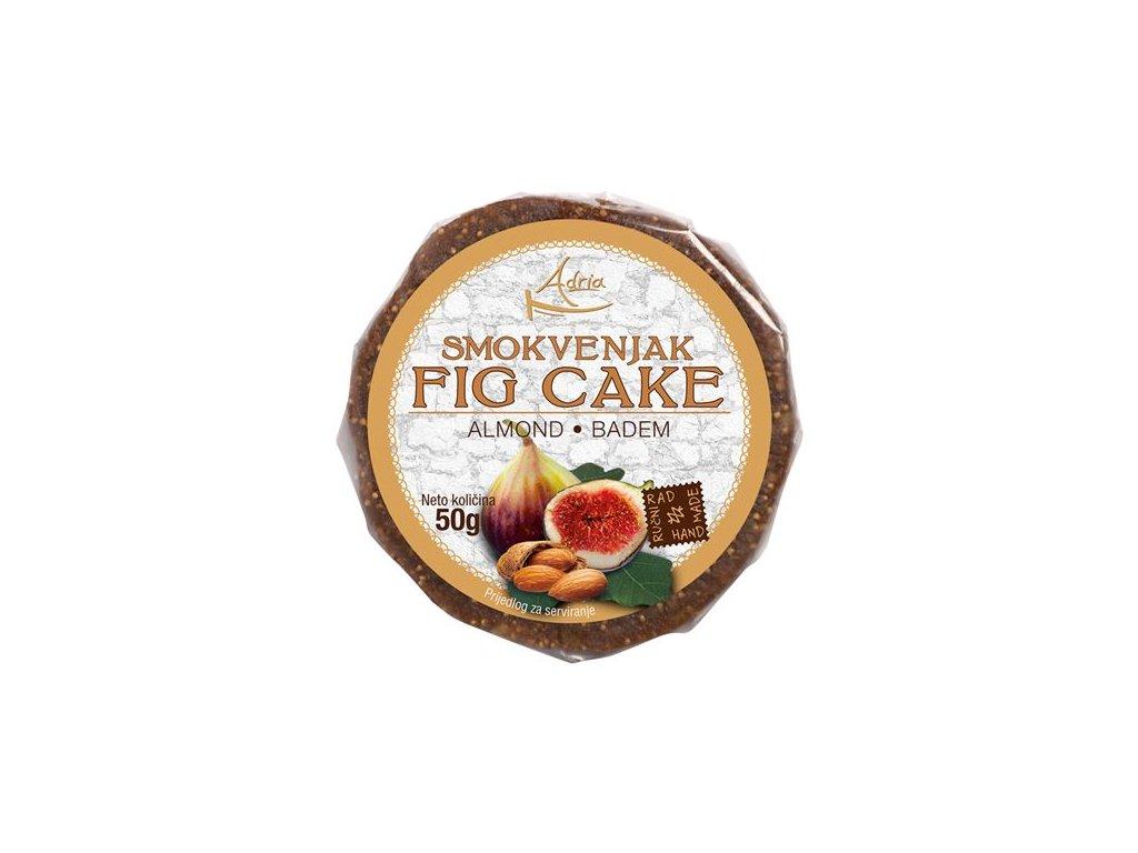 Figový koláčik s mandľami 50g (hand made)