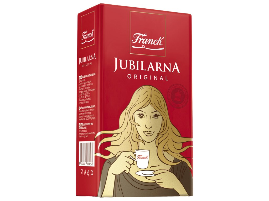 Káva Franck-Jubilarna mleta 250 g