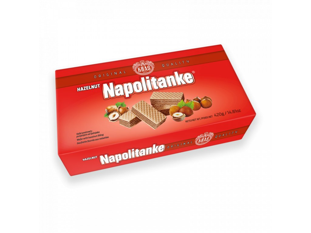 Sušienky s náplňou z lieskových orechov (Original) 420g