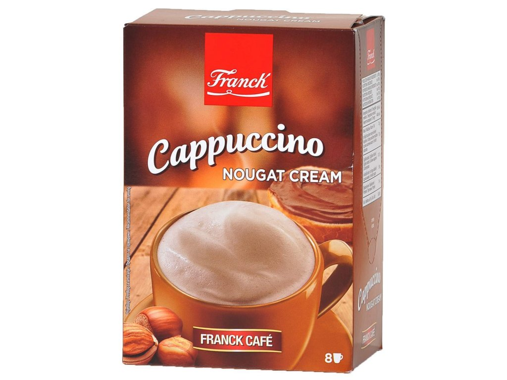 Cappuccino nougat cream 8x18,5g(148g)
