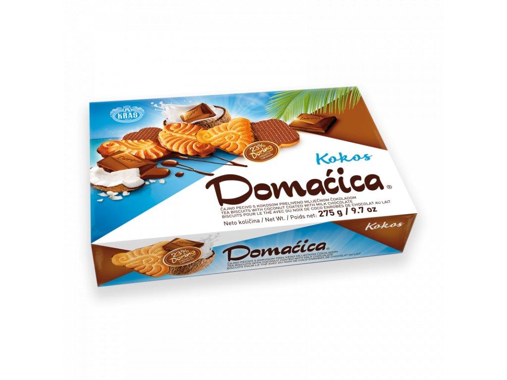 Polomáčané sušienky Domaćica kokosové 275g
