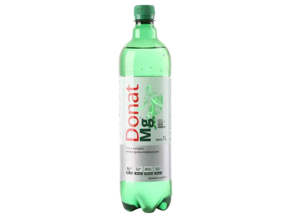 Donat Mg Minerálna voda s vysokým obsahom horčíka a vápnika 1L
