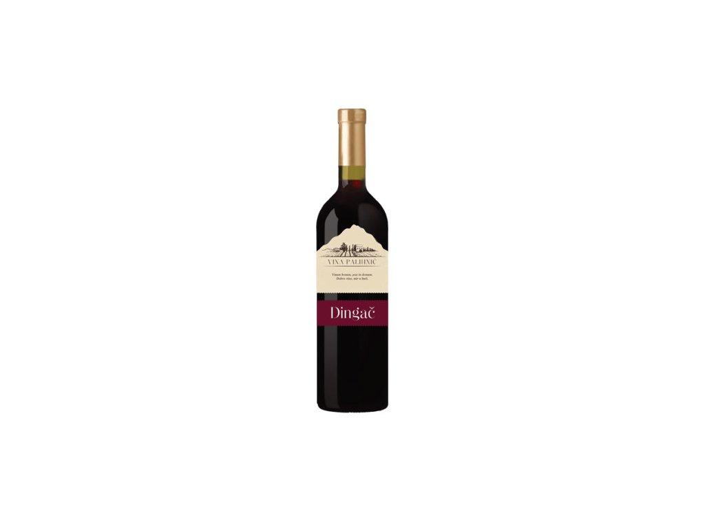 Dingač červené suché víno 0,75l (r.2015)