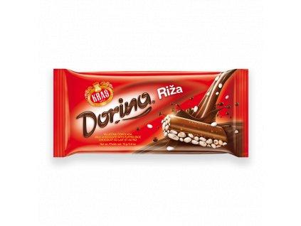 Čokoláda Dorina s ryžou 75g