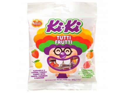 Ki-ki karamelové cukríky Tutti frutti 100g