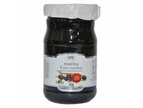 Olivy čierne s kôstkou 370g