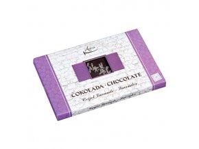 Čokoláda s kúskami levandule min. 72% kakaa 50g (hand made)