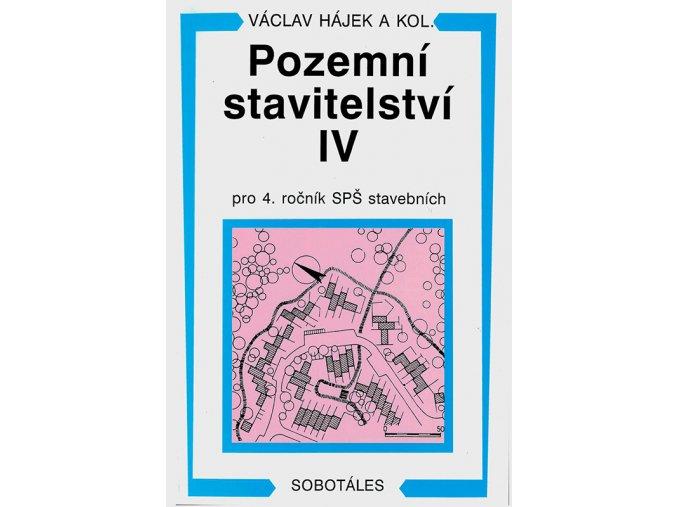 Pozemni stavitelstvi IV v800