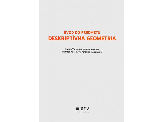Uvod do predmetu deskriptivna geometria v800