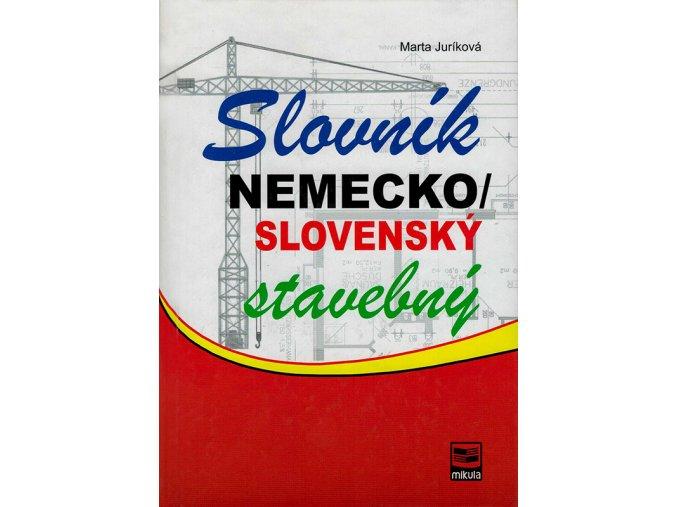 Slovnik nemecko slovensky stavebny v800