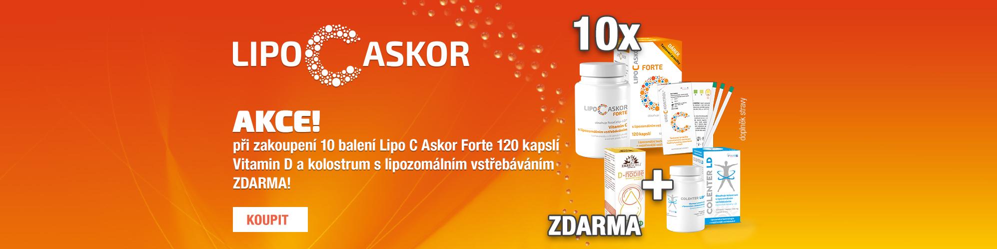 Lipo C Askor + D-Nobile + Colenter LD
