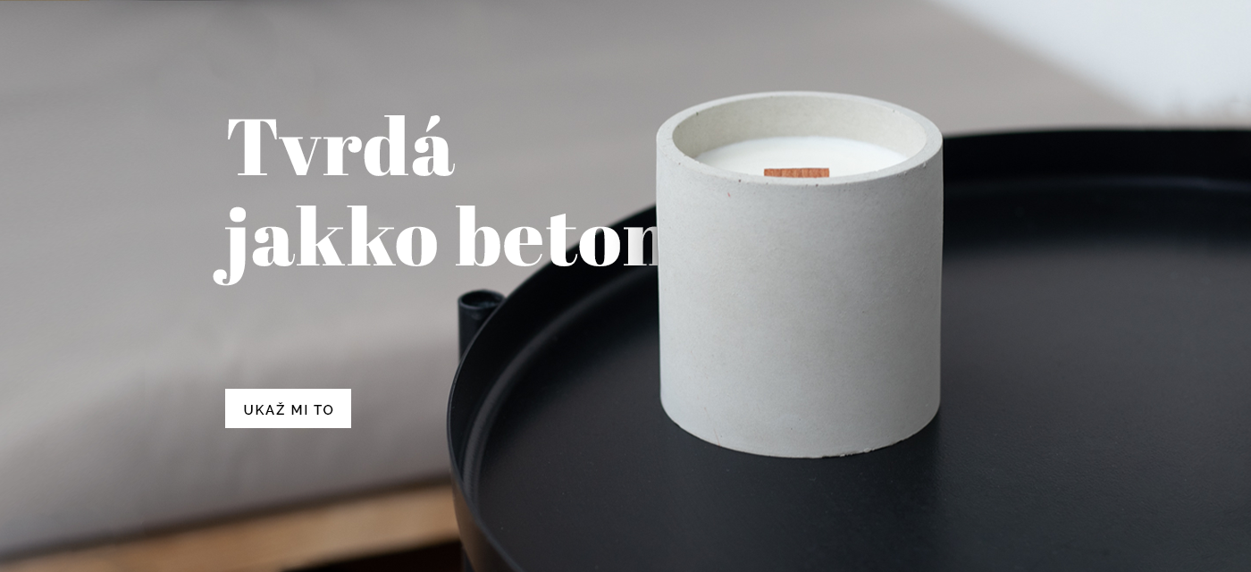 Betonová svíčka