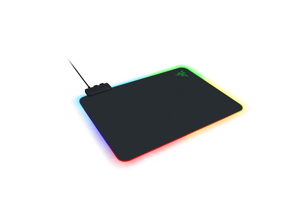 RAZER Firefly V2 herná podložka pod myš, podsvietená