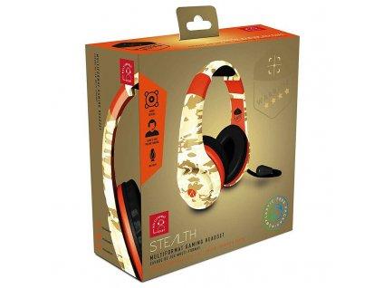STEALTH Multiformat Camo Headset