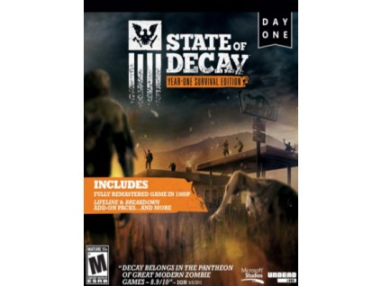 State of Decay: YOSE Day One Edition (PC) Steam Key