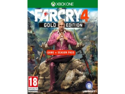 Far Cry 4 Gold Edition XONE Xbox Live Key