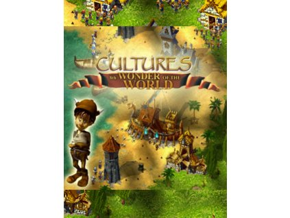 Cultures - 8th Wonder of the World (PC) Steam Key