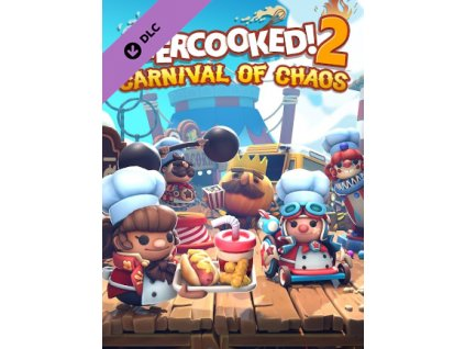Overcooked! 2 - Carnival of Chaos DLC (PC) Steam Key