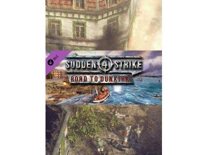 Sudden Strike 4 - Road to Dunkirk DLC (PC) Steam Key