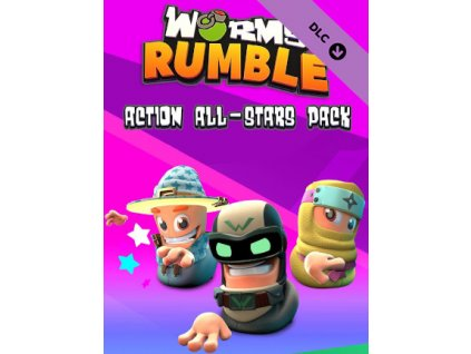 Worms Rumble - Action All-Stars Pack (PC) Steam Key