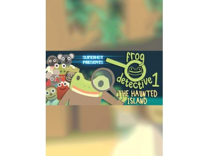 The Haunted Island, a Frog Detective Game (PC) Steam Key