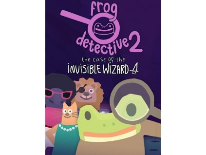 Frog Detective 2: The Case of the Invisible Wizard (PC) Steam Key