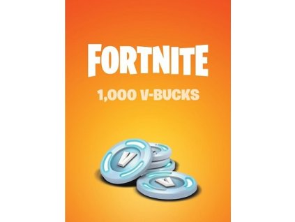 Fortnite 1000 V-Bucks (PC) Epic Key