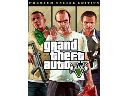 Grand Theft Auto V: Premium Online Edition (PC) Rockstar Key