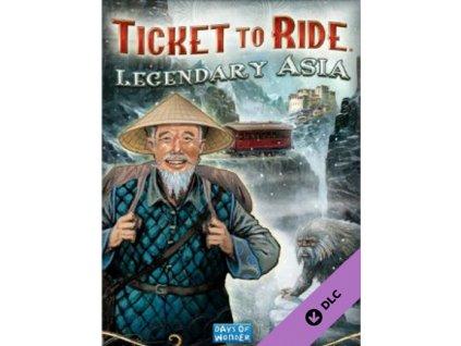 Ticket to Ride Legendary Asia DLC (PC) Steam Key