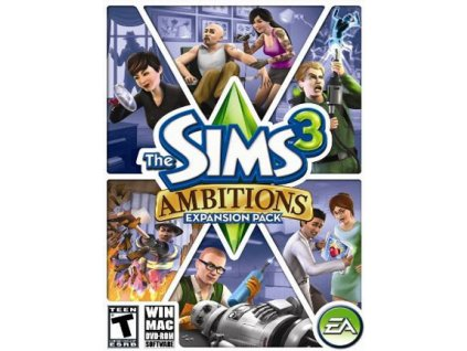 The Sims 3 Ambitions (PC) Origin Key