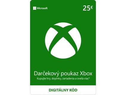 ESD XBOX - Darčeková karta Xbox - 25 EUR