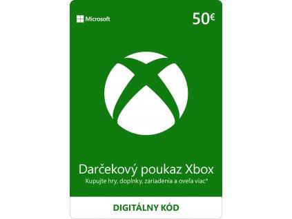 ESD XBOX - Darčeková karta Xbox - 50 EUR