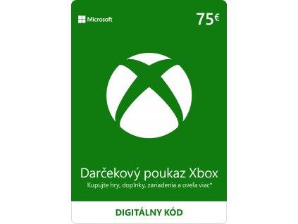 ESD XBOX - Darčeková karta Xbox - 75 EUR