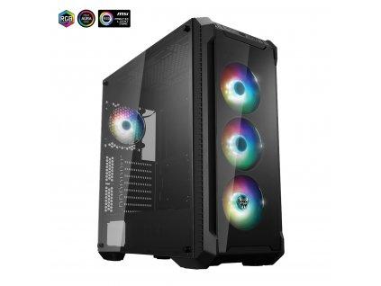 FORTRON ATX Midi Tower CMT520 PLUS black