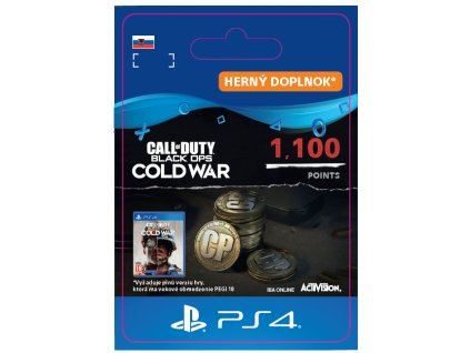Call of Duty®: Black Ops Cold War 1100 Points (PS4) PSN Key