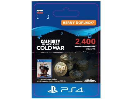 Call of Duty®: Black Ops Cold War 2400 Points (PS4) PSN Key