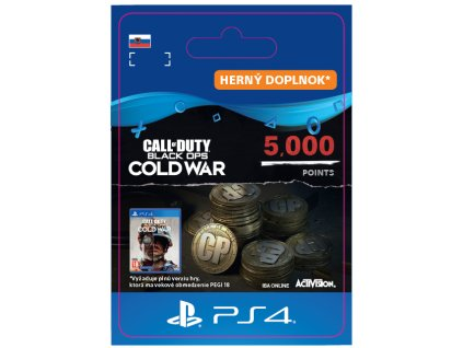Call of Duty®: Black Ops Cold War 5000 Points (PS4) PSN key