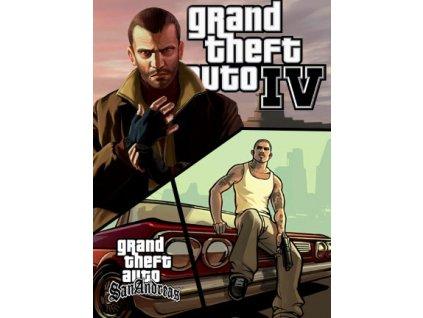 Grand Theft Auto IV + Grand Theft Auto: San Andreas (PC) Steam Key