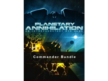 Planetary Annihilation - Digital Deluxe Commander Bundle (PC) Steam Key