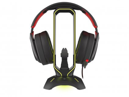 GENESIS VANAD 500 headset stand with mouse bungee