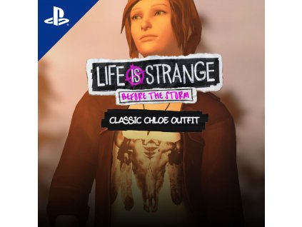 Life is Strange: Before the Storm Classic Chloe Outfit Pack (PS4) PSN Key