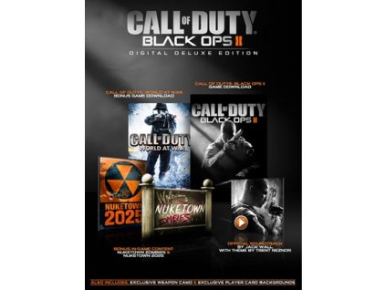 Call of Duty: Black Ops II Digital Deluxe Edition (PC) Steam Key