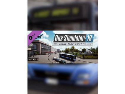 Bus Simulator 18 - Official map extension DLC (PC) Steam Key