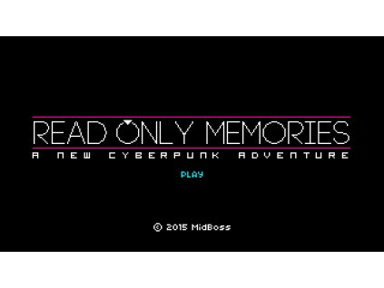Read Only Memories (PC) Steam Key