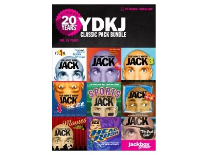 YOU DON'T KNOW JACK Classic Pack (PC) Steam Key