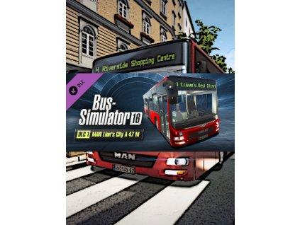 Bus Simulator 16 - MAN Lion's City A 47 M DLC (PC) Steam Key