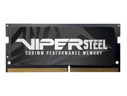 PATRIOT VIPER STEEL 8GB DDR4-3000MHz CL18 Black, 1x8GB