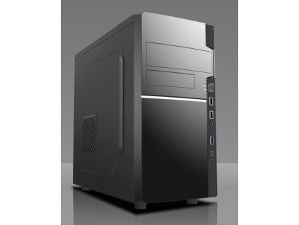 Gamer Ryzen 5 1600 (3,6GHz) GTX1650 8GB 1TB-SSD DVDRW W10 64bit